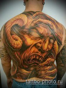 фото тату демон - значение - пример интересного рисунка тату - 017 tattoo-photo.ru