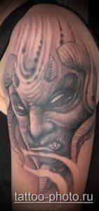 фото тату демон - значение - пример интересного рисунка тату - 019 tattoo-photo.ru