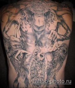 фото тату демон - значение - пример интересного рисунка тату - 027 tattoo-photo.ru
