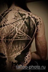 фото тату демон - значение - пример интересного рисунка тату - 028 tattoo-photo.ru