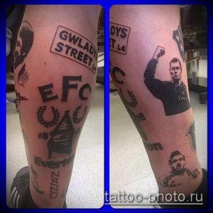 фото тату человек - значение - пример интересного рисунка тату - 002 tattoo-photo.ru