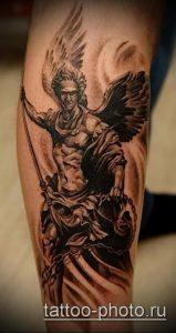 фото тату человек - значение - пример интересного рисунка тату - 004 tattoo-photo.ru