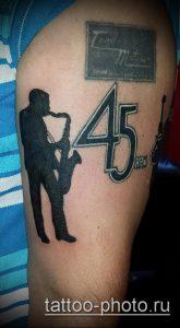 фото тату человек - значение - пример интересного рисунка тату - 006 tattoo-photo.ru