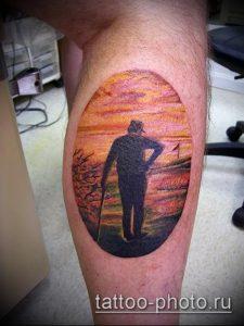 фото тату человек - значение - пример интересного рисунка тату - 011 tattoo-photo.ru