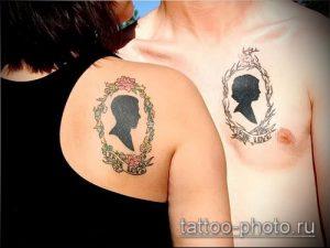фото тату человек - значение - пример интересного рисунка тату - 016 tattoo-photo.ru