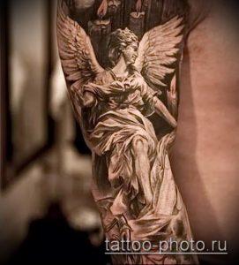 фото тату человек - значение - пример интересного рисунка тату - 019 tattoo-photo.ru
