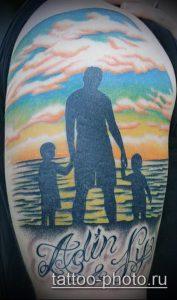 фото тату человек - значение - пример интересного рисунка тату - 020 tattoo-photo.ru