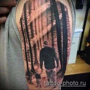 фото тату человек - значение - пример интересного рисунка тату - 021 tattoo-photo.ru