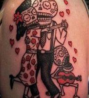 фото тату человек — значение — пример интересного рисунка тату — 022 tattoo-photo.ru