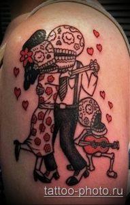 фото тату человек - значение - пример интересного рисунка тату - 022 tattoo-photo.ru