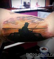 фото тату человек — значение — пример интересного рисунка тату — 023 tattoo-photo.ru