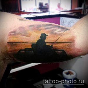 фото тату человек - значение - пример интересного рисунка тату - 023 tattoo-photo.ru
