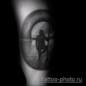 фото тату человек - значение - пример интересного рисунка тату - 024 tattoo-photo.ru