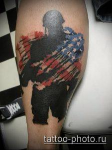 фото тату человек - значение - пример интересного рисунка тату - 026 tattoo-photo.ru