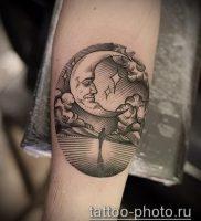 фото тату человек — значение — пример интересного рисунка тату — 027 tattoo-photo.ru