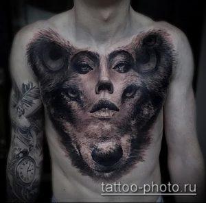 фото тату человек - значение - пример интересного рисунка тату - 029 tattoo-photo.ru