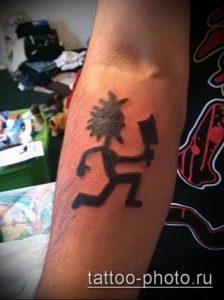 фото тату человек - значение - пример интересного рисунка тату - 032 tattoo-photo.ru