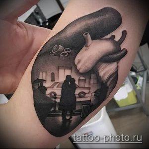 фото тату человек - значение - пример интересного рисунка тату - 037 tattoo-photo.ru