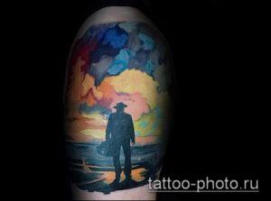 фото тату человек - значение - пример интересного рисунка тату - 039 tattoo-photo.ru