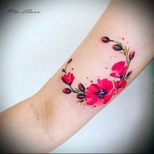 фото тату венок (tattoo wreath) (значение) - пример рисунка - 007 tatufoto.com
