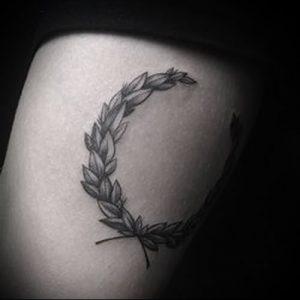 фото тату венок (tattoo wreath) (значение) - пример рисунка - 010 tatufoto.com