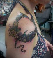 фото тату венок (tattoo wreath) (значение) — пример рисунка — 025 tatufoto.com