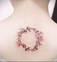 фото тату венок (tattoo wreath) (значение) — пример рисунка — 031 tatufoto.com