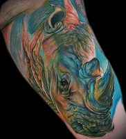 фото тату носорог (rhino tattoo) (значение) — пример рисунка — 032 tatufoto.com