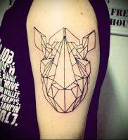 фото тату носорог (rhino tattoo) (значение) — пример рисунка — 041 tatufoto.com