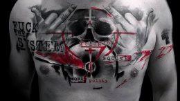 фото тату прицел (tattoo sniper scope) (значение) - пример рисунка - 004 tatufoto.com