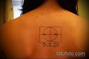 фото тату прицел (tattoo sniper scope) (значение) - пример рисунка - 007 tatufoto.com