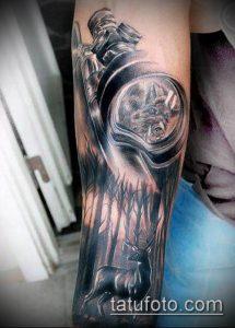 фото тату прицел (tattoo sniper scope) (значение) - пример рисунка - 008 tatufoto.com