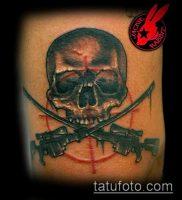 фото тату прицел (tattoo sniper scope) (значение) — пример рисунка — 011 tatufoto.com