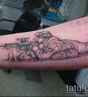 фото тату прицел (tattoo sniper scope) (значение) — пример рисунка — 014 tatufoto.com