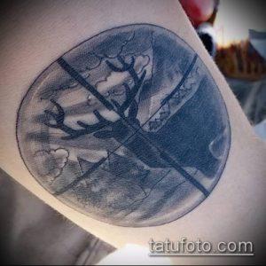 фото тату прицел (tattoo sniper scope) (значение) - пример рисунка - 016 tatufoto.com
