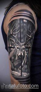 фото тату прицел (tattoo sniper scope) (значение) - пример рисунка - 017 tatufoto.com