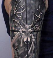 фото тату прицел (tattoo sniper scope) (значение) — пример рисунка — 017 tatufoto.com