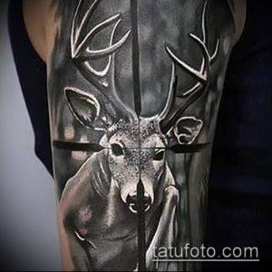фото тату прицел (tattoo sniper scope) (значение) - пример рисунка - 019 tatufoto.com