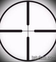 фото тату прицел (tattoo sniper scope) (значение) — пример рисунка — 022 tatufoto.com