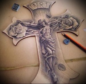 фото тату религиозные (значение) - пример интересного рисунка тату - 002 tatufoto.com