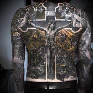 фото тату религиозные (значение) - пример интересного рисунка тату - 004 tatufoto.com