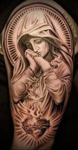 фото тату религиозные (значение) - пример интересного рисунка тату - 010 tatufoto.com