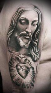 фото тату религиозные (значение) - пример интересного рисунка тату - 017 tatufoto.com