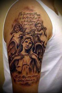 фото тату религиозные (значение) - пример интересного рисунка тату - 025 tatufoto.com