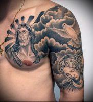 фото тату религиозные (значение) — пример интересного рисунка тату — 027 tatufoto.com