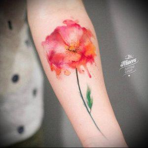 фото Тату в стиле акварель (Watercolor) (значение) - пример рисунка - 004 tatufoto.com