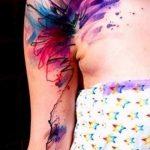 фото Тату в стиле акварель (Watercolor) (значение) - пример рисунка - 022 tatufoto.com