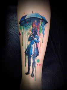 фото Тату в стиле акварель (Watercolor) (значение) - пример рисунка - 065 tatufoto.com