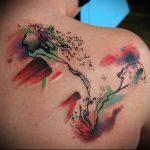 фото Тату в стиле акварель (Watercolor) (значение) - пример рисунка - 094 tatufoto.com