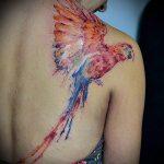 фото Тату в стиле акварель (Watercolor) (значение) - пример рисунка - 099 tatufoto.com